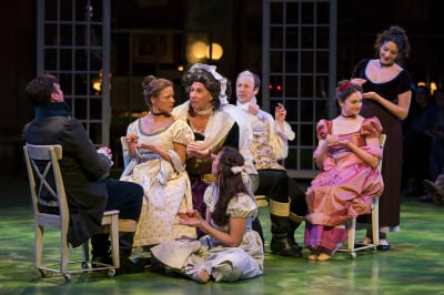"James Patrick Nelson in Bedlam's ""Sense and Sensibility"" at the American Repertory Theater"